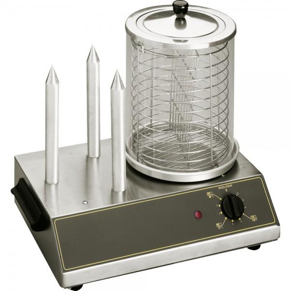 ROLLER GRILL Hot Dog Gerät für bis zu 40 Würstchen Abmessung 440 x 300 x 400 mm (BxTxH)