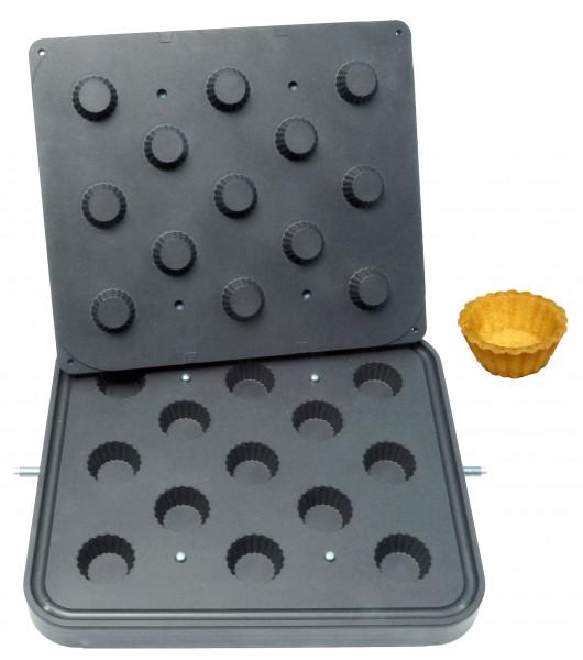 Backplatte Cupcakes
