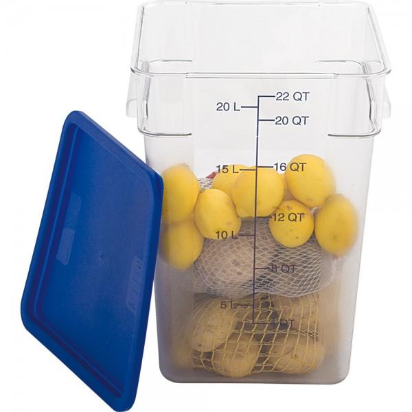Lebensmittelbehälter mit Maßeinheit