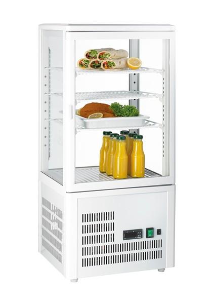 GGG - Aufsatzgetränkekühler 68 Liter, weiß, 428x386x924 mm,