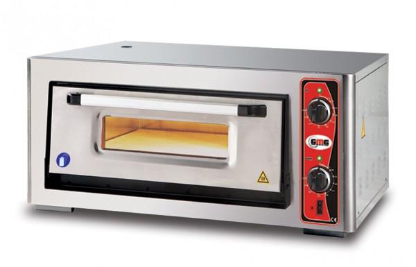 Pizzaofen ohne Thermometer, 1 Kammer, 4 Pizzen Ø 34 cm
