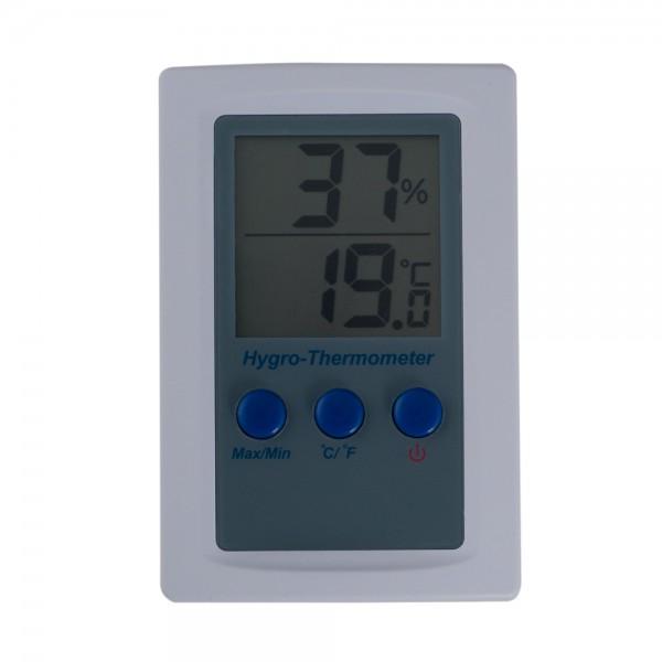 Hygro-Thermometer Temperaturbereich 0 °C bis 50 °C