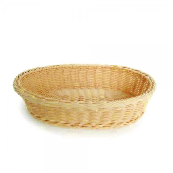 Tisch - und Buffetkorb oval für sechs Toasts Abmessung 430 x 225 x 215 mm (BxTxH) Polypropylen 380