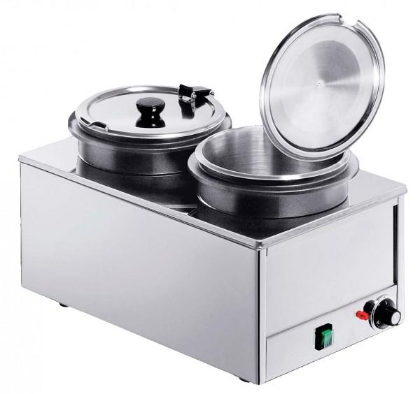 Elektro Suppenstation 2x 8 Liter