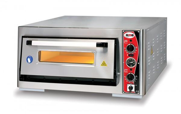 Pizzaofen mit Thermometer, 1 Kammer, 6 Pizzen Ø 30 cm