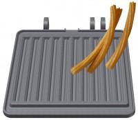 Churros Backplattensatz für Backsystem