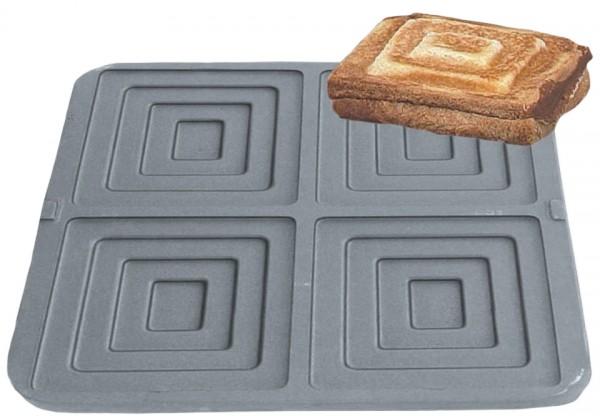 Sandwich Backplattensatz