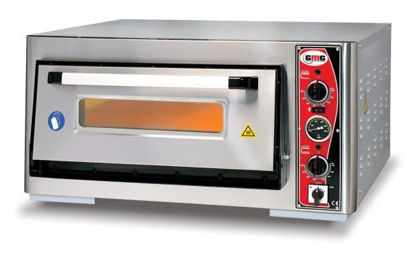 Pizzaofen mit Thermometer, 1 Kammer, 4 Pizzen Ø 30 cm
