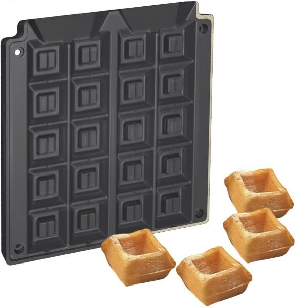 Waffo-Biss Backplattensatz