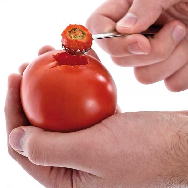 Tomatenentstieler aus Edelstahl