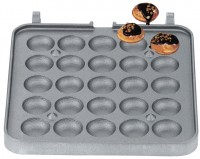 Waffelbällchen Backplattensatz für Backsystem