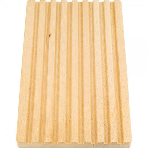 Schneidbrett aus Buchenholz 400 x 250 x 30 mm