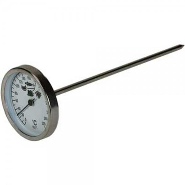 Einstech-Thermometer Temperaturbereich 0 °C bis 300 °C