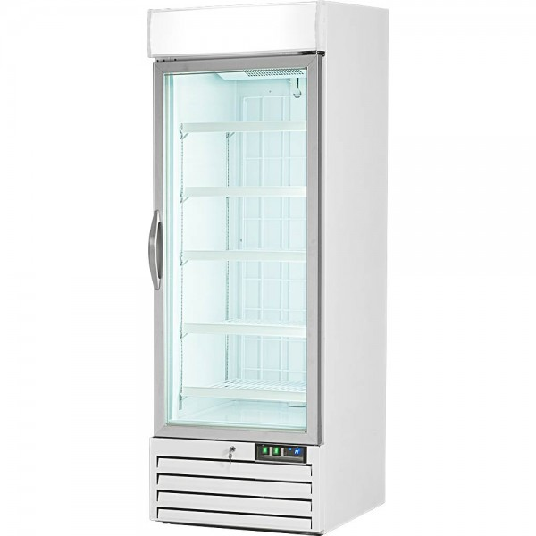 Displaytiefkühlschrank mit Glastür