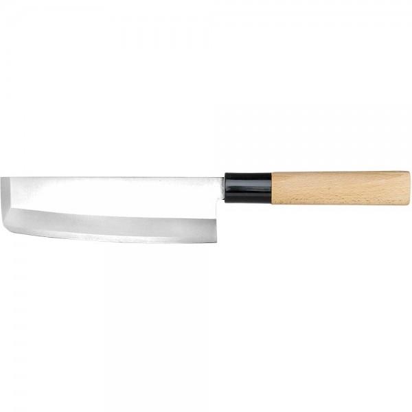 Japanisches Nakiri-Messer Edelstahlklinge 180 mm
