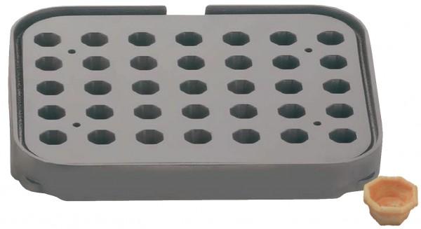 Backplatte T35 achteckig