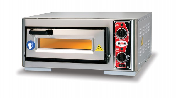 Pizzaofen ohne Thermometer, 1 Kammer, 1 Pizza Ø 39 cm
