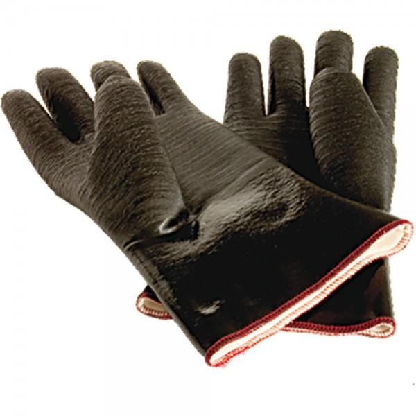Neopren-Ofenhandschuhe ölresistent fünf Finger hitzebeständig bis 300 °C