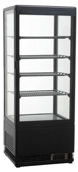 GGG - Aufsatzgetränkekühler 98 Liter, 428x386x1110 mm, schwarz,