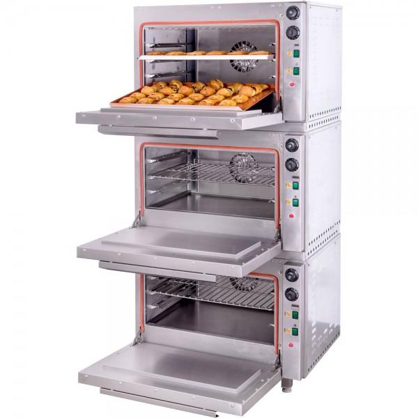 Freihstehender Umluftofen mit Grillfunktion MODULAR 5 Liter 270 x 410 x 295 mm (BxTxH)