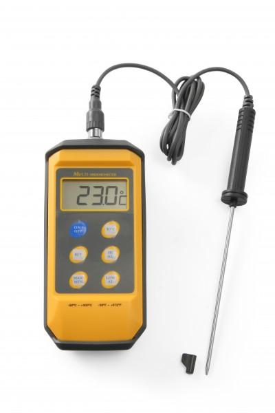Thermometer stoßfest mit Digitalanzeige und Stiftsonde
