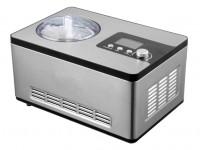 GGG - Eismaschine, 284x424x262 mm, 2 Liter, 180 W, 230 V, 50 Hz, vollautomatisch, für Speiseeis, Sorbets und Frozen Yogurt,