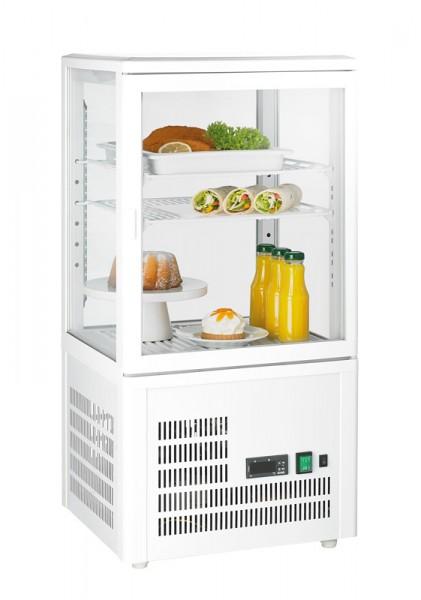GGG - Aufsatzgetränkekühler 58 Liter, weiß, 428x386x846 mm,