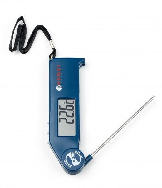 Thermometer mit einklappbarer Sonde