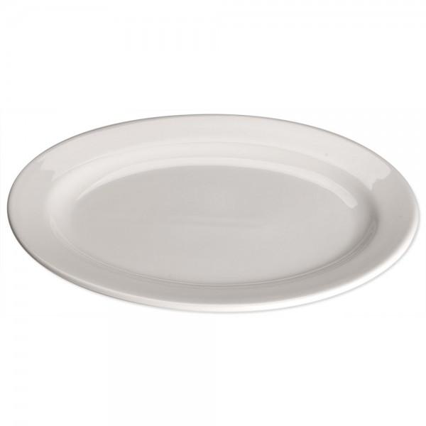 Serie Elegantia Platte mit Fahne oval