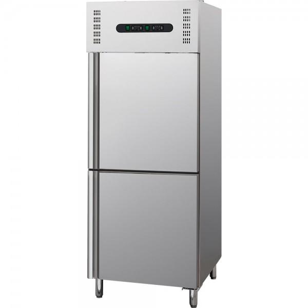 Kühl - / Tiefkühlkombination 400 Liter Abmessung 600 x 600 x 1850 mm (BxTxH) geeignet für GN 2/1 Abm