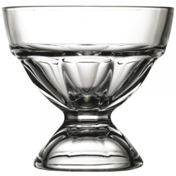 Eisbecher aus Glas