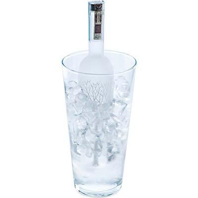 Vase aus Glas 2,85 Liter
