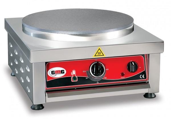 Crêpes-Eisen, elektro, 1 Platte, Teflon, Rechteckgehäuse