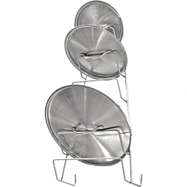 Deckelhalter für sechs Deckel Abmessung 290 x 130 x 520 mm (BxTxH)