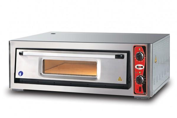 Pizzaofen ohne Thermometer, 1 Kammer, 6 Pizzen Ø 30 cm