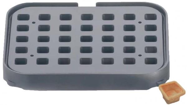 Backplatte T35 viereckig