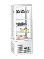 GGG - Aufsatzgetränkekühler 98 Liter, weiß, 428x386x1150mm, 200 W, +3°C /+8°C, 230 V, 50 Hz, 4 verstellbare Einlegeböden